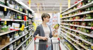Browsing supermarket shelves