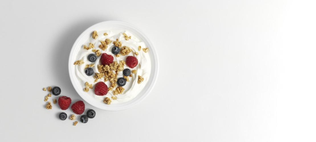 texture university yoghurt berries banner image